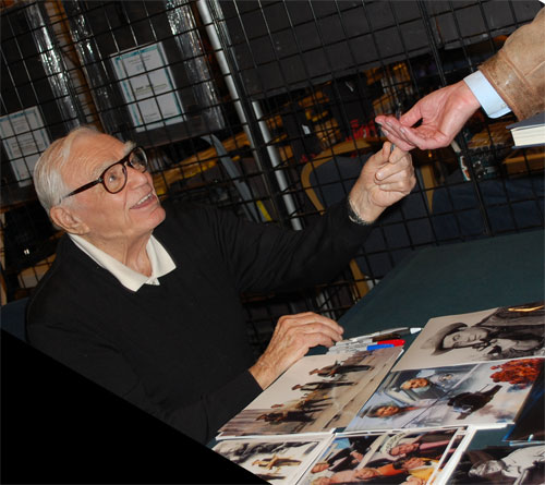 Ernest Borgnine at Creation Weekend of Horror 2011