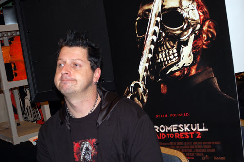 Robert Hall at Creation Weekend of Horror 2011