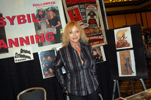 Sybil Danning at Creation Weekend of Horror 2011