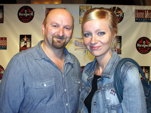 Neil Marshall and Axelle Carolyn