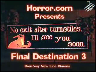 Final Destination 3 Sneak Peak