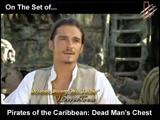 Pirates - On The Set
